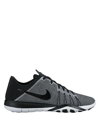 Nike Womens Free TR 6 Printed Training Shoes-WHITE-5.5