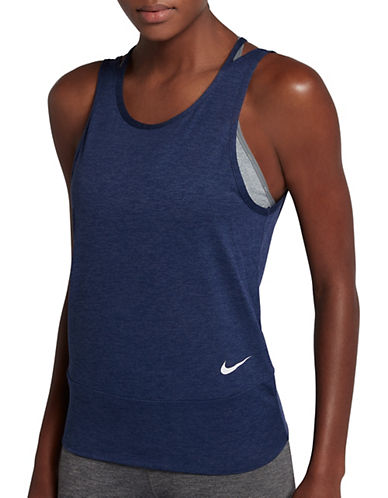Nike Dry Training Tank Top-BLUE-Small 89687343_BLUE_Small