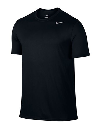 Nike Dry Training T-Shirt-BLACK-Large