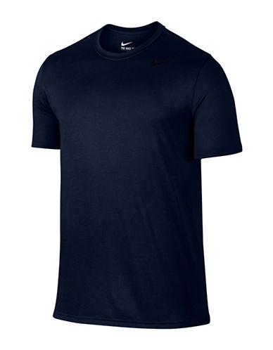 Nike Dry Training Tee-DARK BLUE-Large
