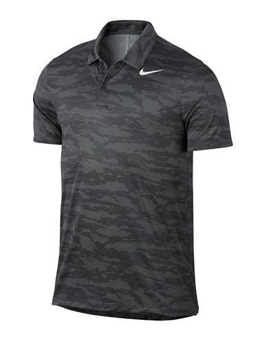 Nike Ultra Camo Golf Polo-GREY-Small
