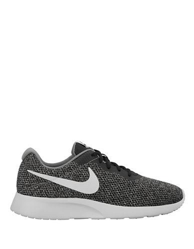 Nike Mens Tanjun SE Low-Top Sneakers-BLACK-10.5 89939949_BLACK_10.5