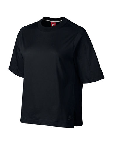 Nike NSW Jersey Front Training T-Shirt-BLACK-Small 88719229_BLACK_Small