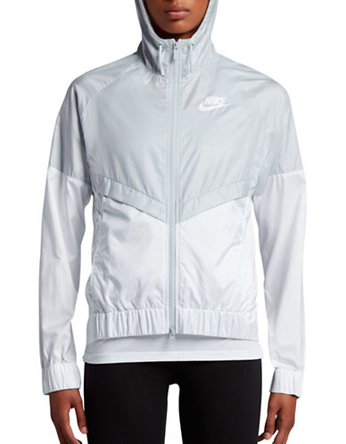 Nike Zip-Front Windrunner Jacket-PLATINUM-X-Small 89203169_PLATINUM_X-Small