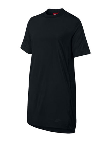 Nike Sportswear Bonded Dress-BLACK-Medium 88719255_BLACK_Medium