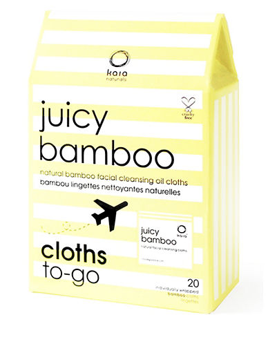 Juicy Bamboo Box of 20 Juicy Bamboo Natural Cleaning Cloths-NO COLOUR-One Size