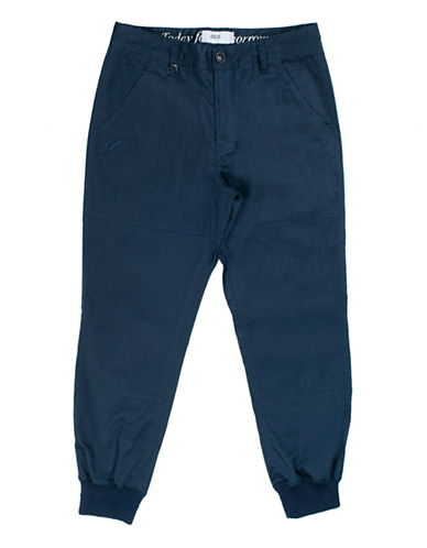 Publish Brand Twill Jogger Pants-NAVY-36