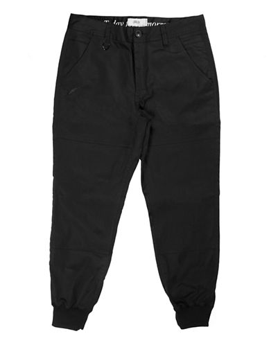 Publish Brand Twill Jogger Pants-BLACK-34