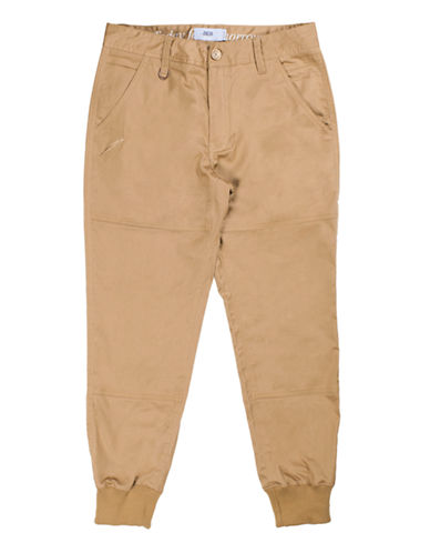Publish Brand Twill Jogger Pants-TAN-38