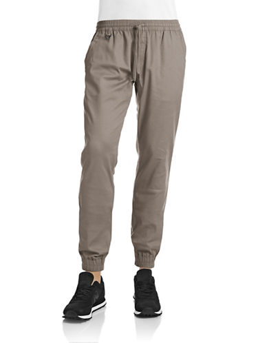 Publish Brand Structured Jogger Pants-GREY-38