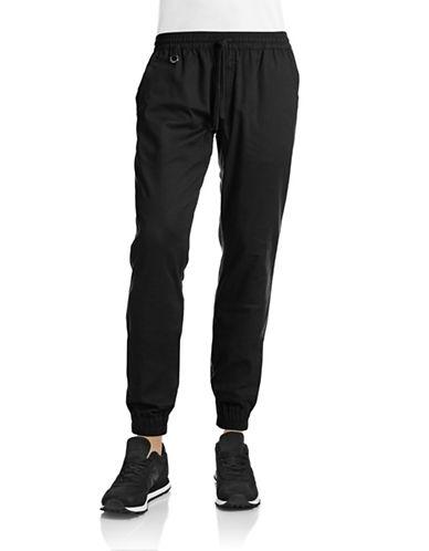 Publish Brand Structured Jogger Pants-BLACK-38