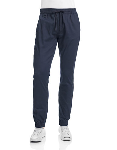 Publish Brand Structured Jogger Pants-NAVY-38