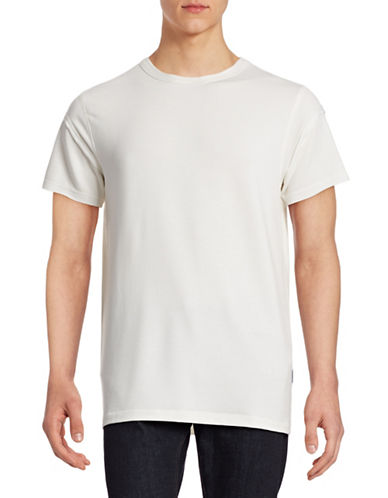 Publish Brand Reverse Sleeve T-Shirt-WHITE-Large 88225541_WHITE_Large