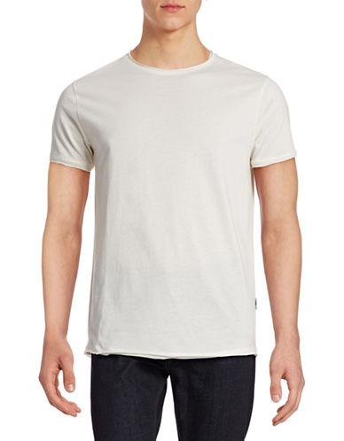 Publish Brand Rolled Trim T-Shirt-WHITE-Medium 88225548_WHITE_Medium