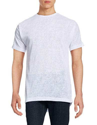 Publish Brand Cavan Slub Knit T-Shirt-WHITE-Large 88861195_WHITE_Large