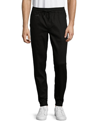 Publish Brand Sprinter Bottom Jogger Pants-BLACK-38