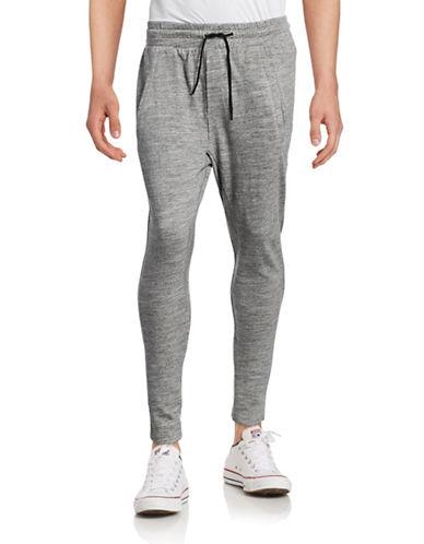 Uncl Marled Slim Jogger Pants-GREY-Large 88708991_GREY_Large