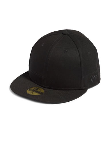 Publish Brand Patch Work Baseball Cap-BLACK-X-Large