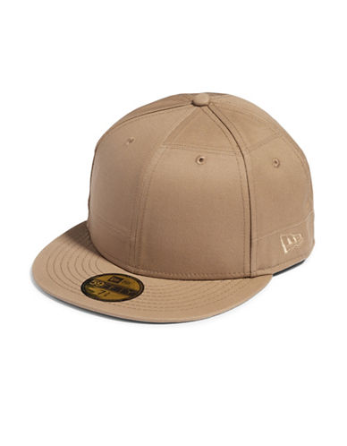Publish Brand Patch Work Baseball Cap-BEIGE-Large/X-Large