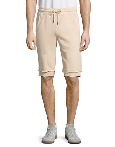 Publish Brand Jett Premium Relaxed Fit Shorts-BEIGE-Large