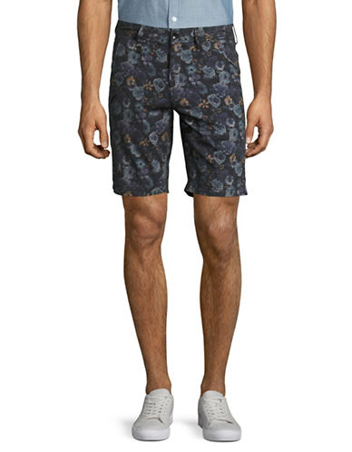 Publish Brand Dante Overdye Floral Shorts-BLACK-Medium
