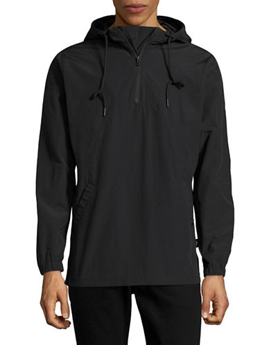 Publish Brand Nylon Anorak Jacket-BLACK-Medium
