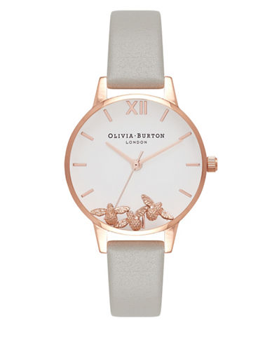 Olivia Burton Busy Bees Analog Watch-ROSE GOLD-One Size