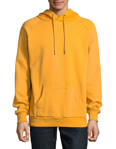Publish Brand Bowen Reverse Cotton Hoodie-YELLOW-Small