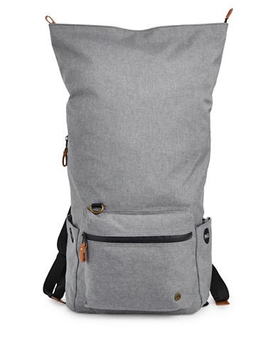 Pkg Zip Fold-Over Pack-LIGHT GREY-One Size