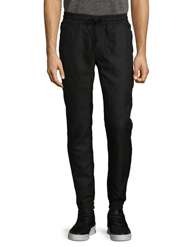 Publish Brand Cayden Jogger Pants-BLACK-36