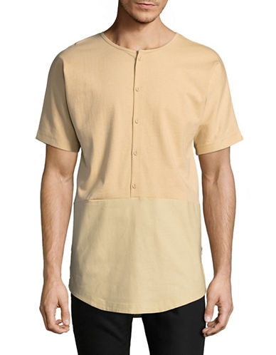Publish Brand Kristohper Blocked Top-BEIGE-Large