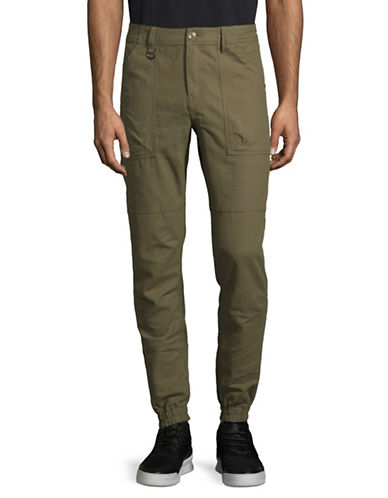 Publish Brand Milton Cotton Jogger Pants-GREEN-X-Large