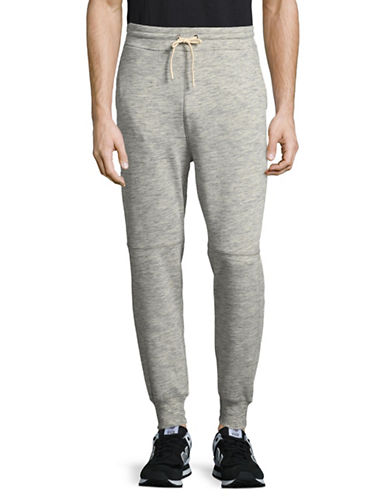Publish Brand Drawstring Jogger Pants-GREY-Large