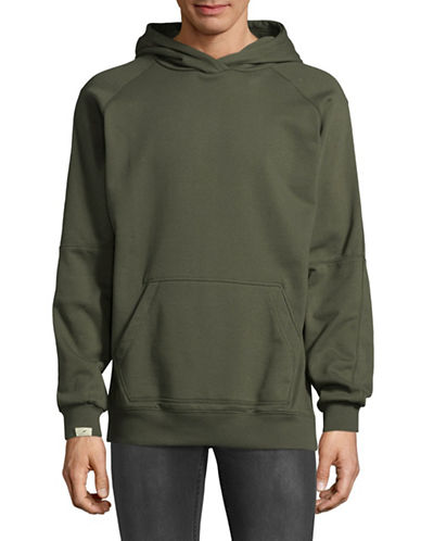Publish Brand 310G Heather Terry Hoodie-GREEN-Large