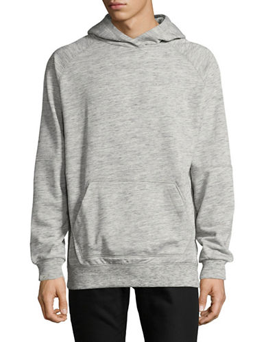 Publish Brand 310G Heather Terry Hoodie-GREY-Small