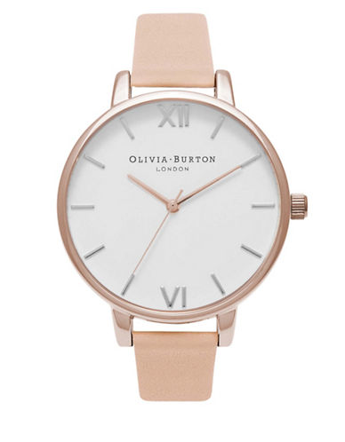 Olivia Burton OB16BDW21 Big Dial Analog Watch-PINK-One Size