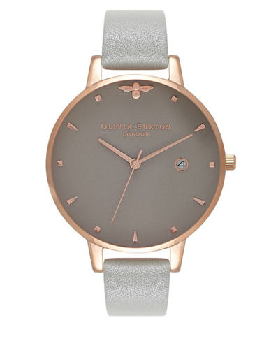 Olivia Burton Queen Bee Analog Watch-ROSE GOLD-One Size