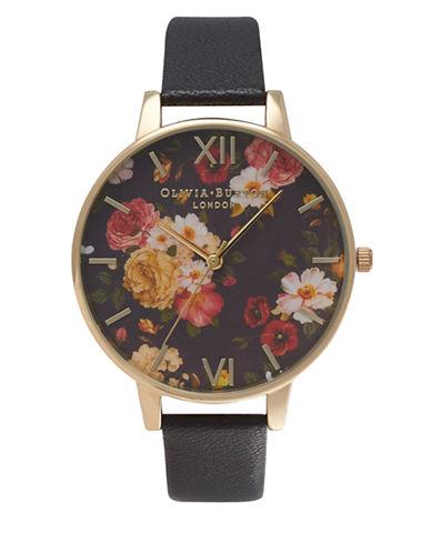 Olivia Burton Winter Garden Analog Watch-GOLD-One Size