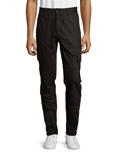 Publish Brand Leandro Cotton Cargo Pants-BLACK-34