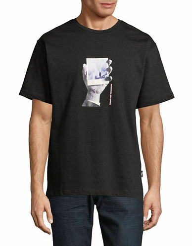 Publish Brand Graphic Cotton Tee-BLACK-X-Large