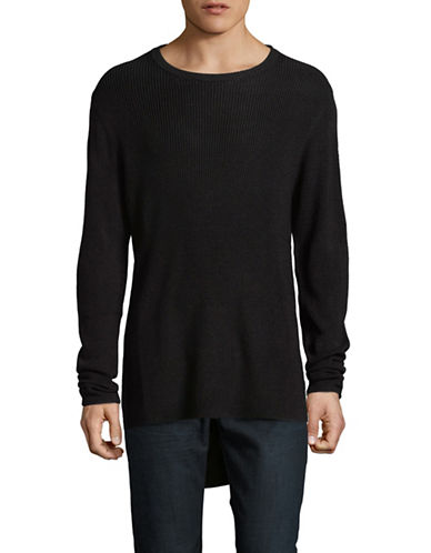 Publish Brand Heavy Merino Wool-Blend Sweater-BLACK-Large