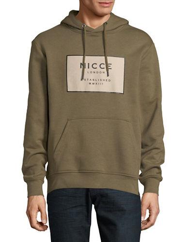 Nicce Est 13 Hoodie-KHAKI-Medium