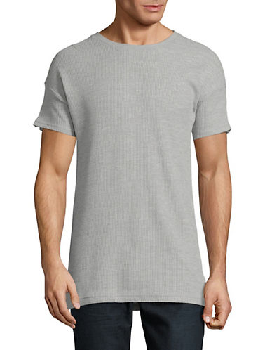 Kollar Waffle Short-Sleeve T-Shirt-GREY-Small 90054674_GREY_Small
