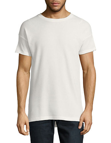 Kollar Waffle Short-Sleeve T-Shirt-WHITE-Large 90054684_WHITE_Large