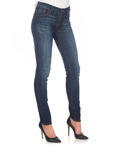 Guess Curvy Fit Skinny Jeans-BLUE-30