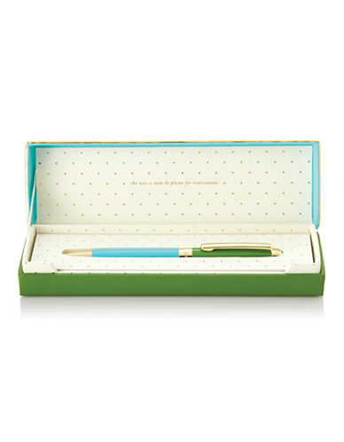 Kate Spade New York Ballpoint Pens-TURQUOISE-One Size