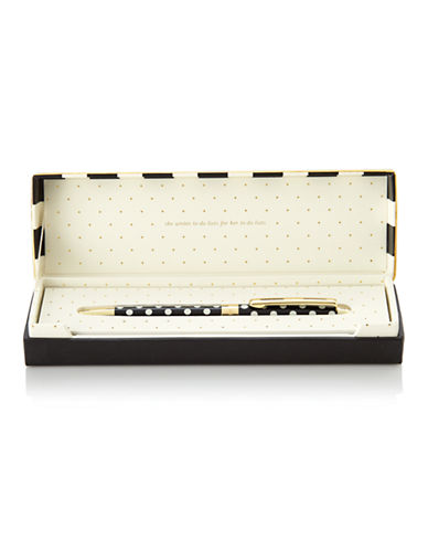 Kate Spade New York Ballpoint Pens-BLACK-One Size