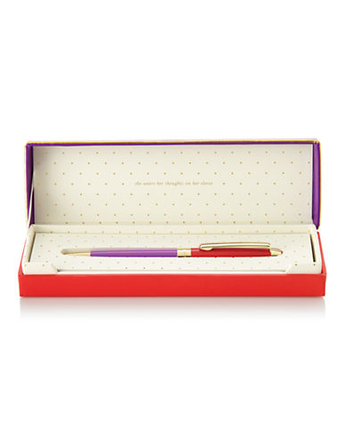 Kate Spade New York Ballpoint Pens-RED-One Size 87243894_RED_One Size