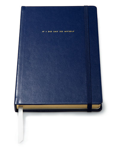 Kate Spade New York Large Notebook-NAVY-Large