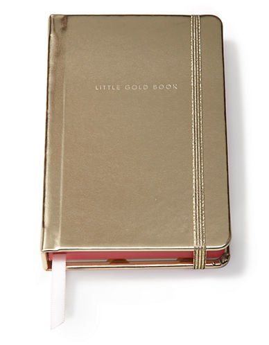 Kate Spade New York Medium Notebook-GOLD-Medium